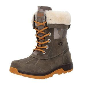 UGG Kids Butte II CAMO Lace-Up Boot